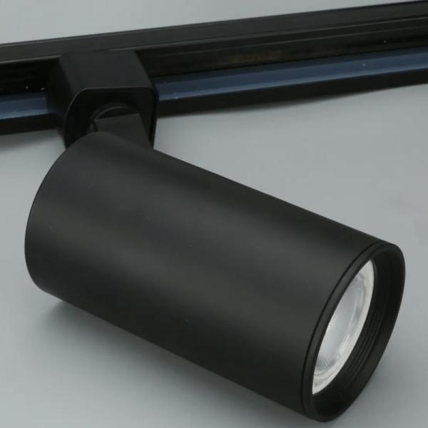 Cabezal Tracklight PAR16 GU10 Negro