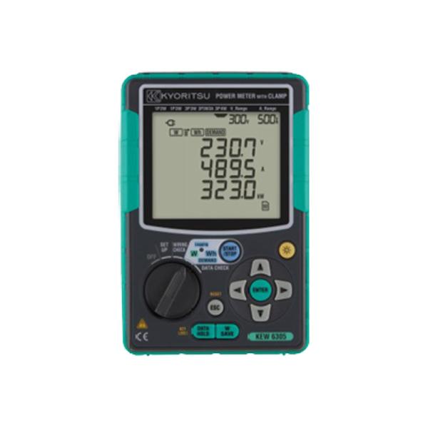 Analizador digital de energía con pinza 3000A