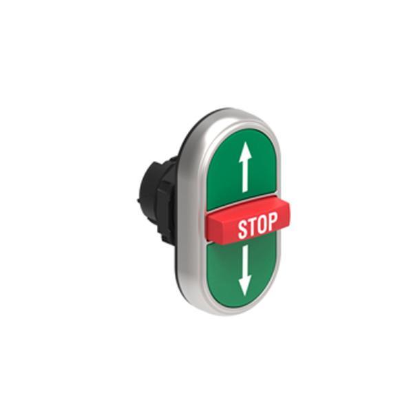 Pulsador triple VD-STOP-VD