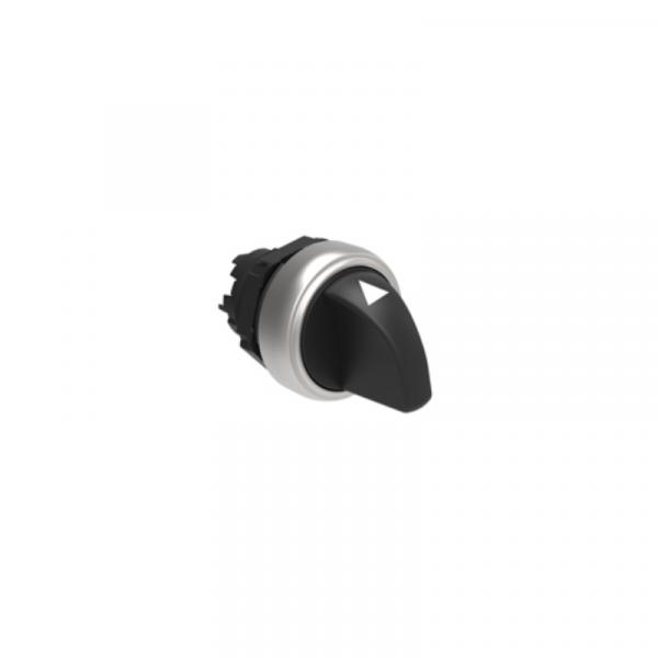 Selector 3pos. pulsador-0-pulsador
