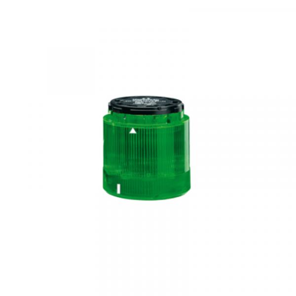 Unidad luminosa fija 240V verde