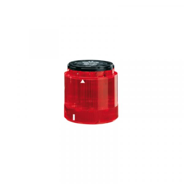 Unidad luminosa fija 240V rojo