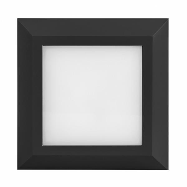 Aplique DECOLED 3W cuadrado negro