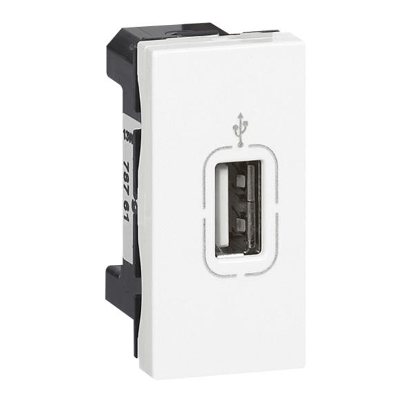 Pico toma USB conexión bornes