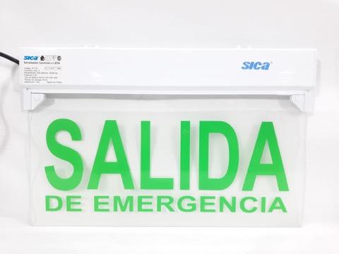 Señalizador LED «SALIDA DE EMERGENCIA»