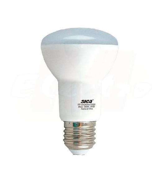 Reflectora LED R63 7W E27 Luz día