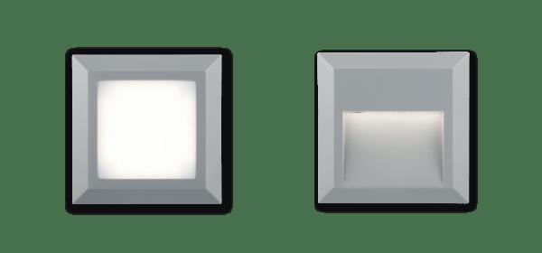 Aplique SMOK 1.6W 3000K gris