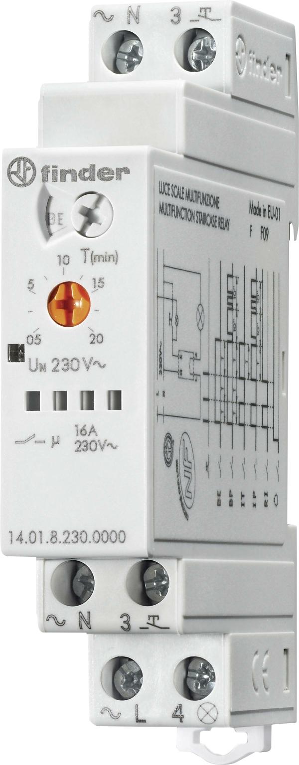 Telerruptor escalera multifunción 16A