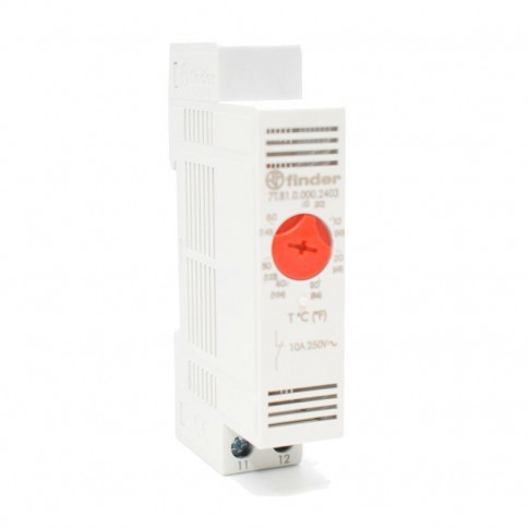 Termostato de cuadro 0-60º 10A/nc calefactor