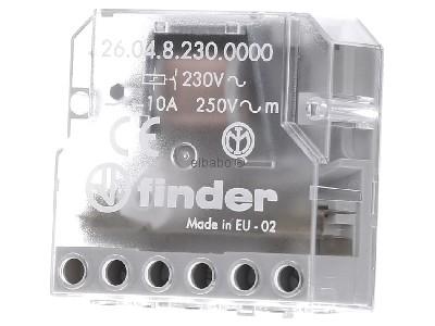 Telerruptor electromecánico 10A 230VCA 4 contactos para embutir