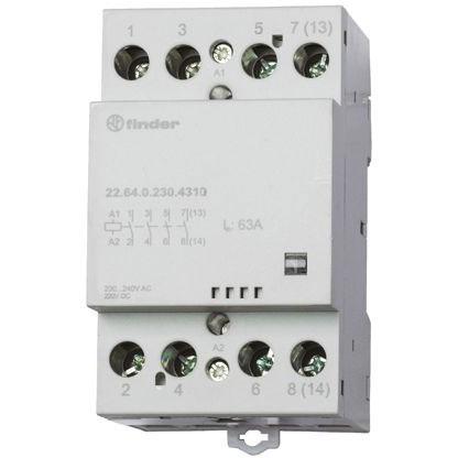 Contactor modular 4NA 63A 230VCA