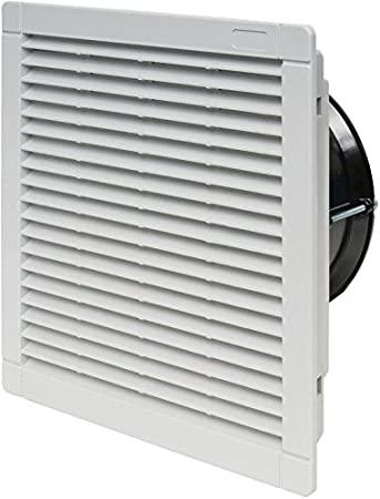Ventilador con filtro 250x250mm.
