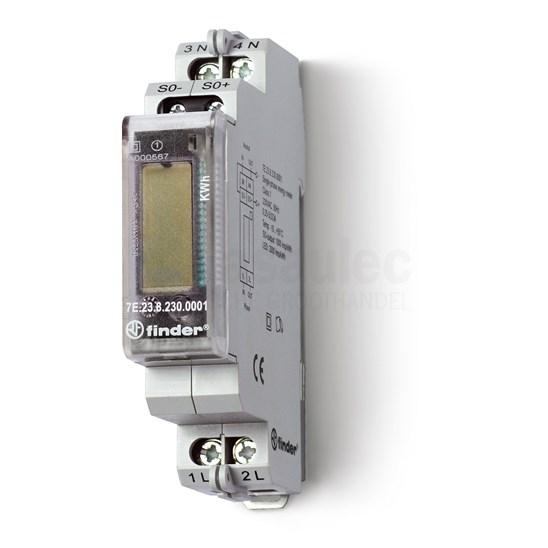 Medidor de energía digital monofásica 32A 230V