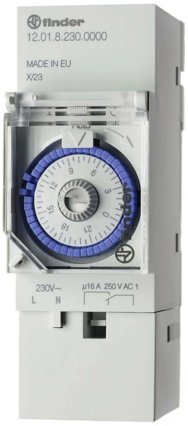 Interruptor horario analógico 16A