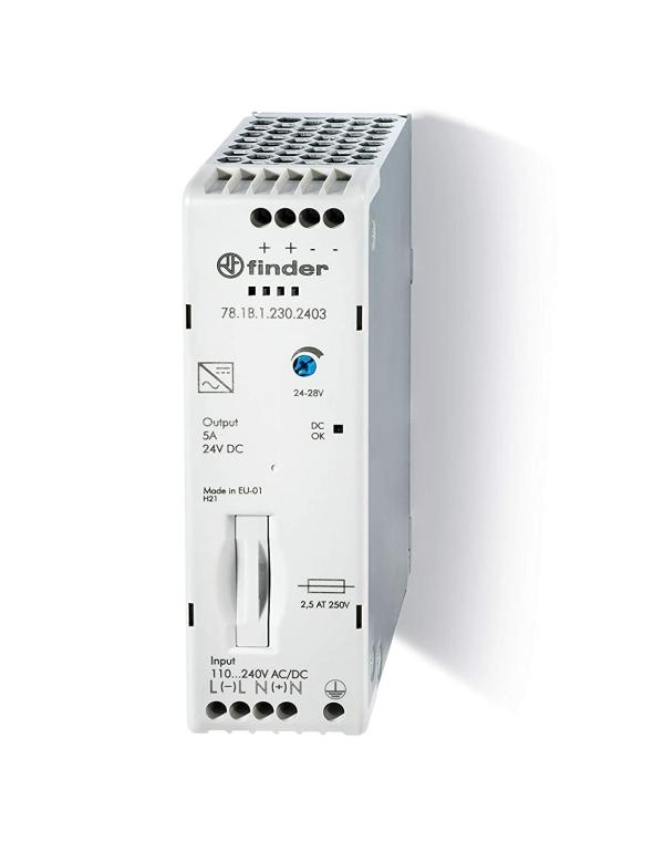Fuente de alimentación conmutada 24VDC 5A 230V