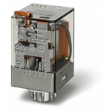 Relé industrial 2INV 10A 230VCA