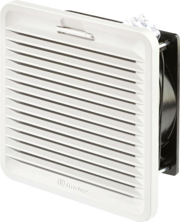 Ventilador con filtro 150x150mm.